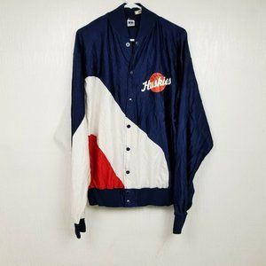 VINTAGE Russell Athletic Huskies Basketball Jacket